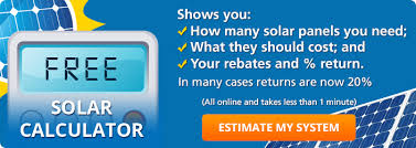 Solar Panels Estimate by The Solar Estimate Solar Calculator Shows How Much Solar Panels