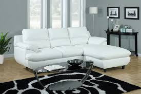 White Leather Sectional Sofa With Chaise Modern Concept Small Sectional Sofa And Small White Leather