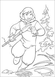 brother bear 14 coloring pages hellokids
