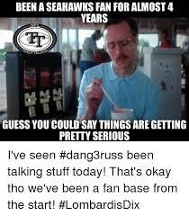 Seahawks Fan Meme - 25 best memes about seahawks fan seahawks fan memes