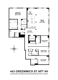 River City Phase 1 Floor Plans by Tribeca U0027s Celebrity Magnet 443 Greenwich Street Unveils A 40k