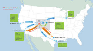 United International Route Map by Aspen Pitkin County Airport Ase Flights Flying To Aspen Snowmass