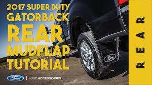 Ford F350 Truck Accessories - 2017 ford super duty gatorback installation rear ford custom