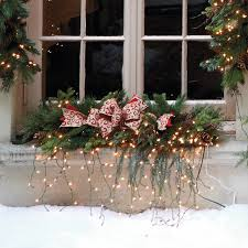 Outdoor Windows Decorating Christmas Decorating Ideas For Outside Windows