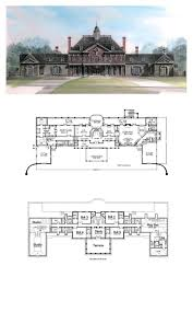 greek revival house plans 98256 total living area 9581 greek