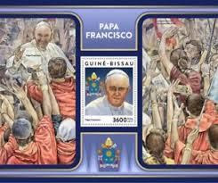 pope francis souvenirs guinea bissau 2017 pope francis st souvenir sheet
