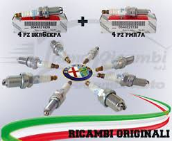 candele spark candele originali alfa romeo 147 156 motore spark 4 pmr7a