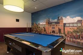 games room at the amsterdam teleport hotel oyster com
