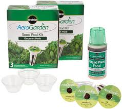 set of 2 miracle gro aerogarden 3pod seed kit page 1 u2014 qvc com