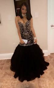 online get cheap gold and black mermaid prom dress aliexpress com