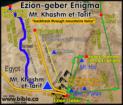 Gulf Of Aqaba Map The Exodus Route A Scriptural Proof With The Witness Of History