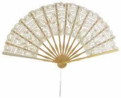 lace fans 11 beige ivory folding lace fan for weddings on