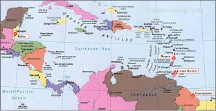 Trinidad And Tobago Map Trinidad Map Of Caribbean You Can See A Map Of Many Places On