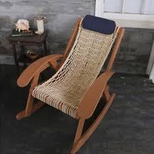 Knotted Hammock Chair Pawleys Island Hammock Sling Outdoor Rocker The Green Head