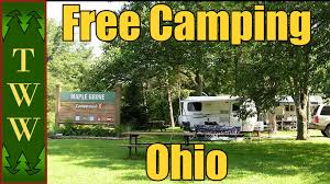 Ohio Campgrounds Map Free Camping In The East Pt 2 Ohio Power Aep Youtube
