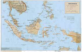 Us Relief Map Nationmaster Maps Of Indonesia 21 In Total