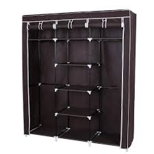 jingcui fair price furniture wardrobe double rod storage organizer