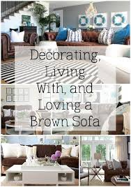 how decorate a living room with brown sofa decorating with a brown sofa dark brown sofas living spaces and