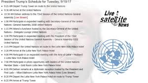 Delegates Dining Room At United Nations Headquarters President Donald Trump U0027s Un Schedule For Tuesday September 19