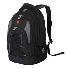 swissgear black and grey bungee backpack 11862415 the home depot