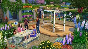 amazon com the sims 4 romantic garden stuff online game code