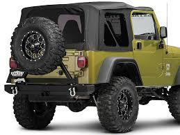2000 jeep bumpers barricade wrangler rear bumper w tire carrier j20852 87