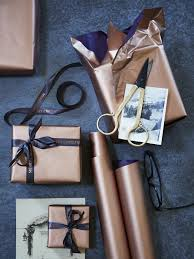 copper wrapping paper packaging wrapping papers