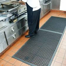 Commercial Kitchen Flooring by 8 Reasons Why Drainage Kitchen Rubber Mats Are Essential In Any