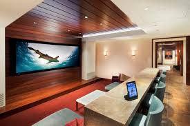 living room remarkable modern home theatre design with wonderful