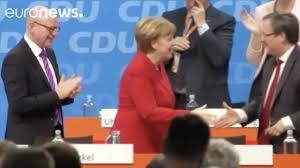 german election latest merkel in shock regional poll win as eu