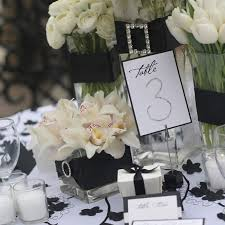 black tie party favors 50 best black white tablescapes images on blankets