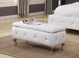White Wood Storage Bench Other Dvd Storage Units Tufted Storage Bench Bedroom Sofa Bench