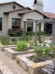raised stone vegetable garden houzz