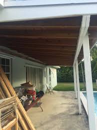 Decks With Roofs Pictures by Roof How To Calculate Steel Beam And Posts Size To Replace
