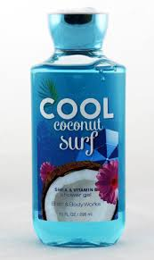 cool coconut surf shower gel archway variety cool coconut surf shower gel bath and body works 10oz