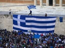 Greek Flag Background Greece And Creditors Fail To Agree Ahead Of Crucial Weekend