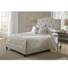 Beige Upholstered Bed Pri Robinson Queen Upholstered Bed U0026 Reviews Wayfair