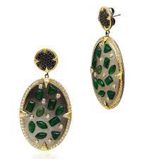 gala earrings scattered gala earrings onyx fashion jewelry