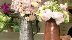 video watering can flower arrangements martha stewart