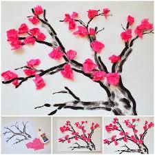 pattern making tissue paper wonderful diy cherry blossom tissue papaer flower