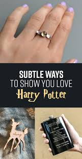 harry potter inspired engagement ring 25 harry potter products that ll make your credit card go swish