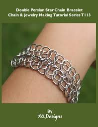 star chain bracelet images Double persian star chain bracelet chain jewelry making tutorial jpg