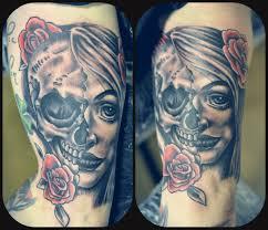 half skull galleryhip com the hippest