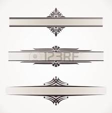 decorative vector frames with ornamental elements royalty free