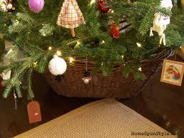 diy christmas tree collar u2013 home spun style
