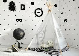 chambre bebe noir chambre enfant decoration chambre enfant noir blanc déco chambre