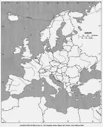 Blank Continents Map by Blank Europe Map Free Printable Maps
