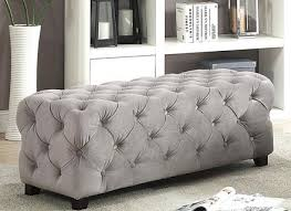 Grey Tufted Ottoman Grey Tufted Ottoman Meonthemap Org
