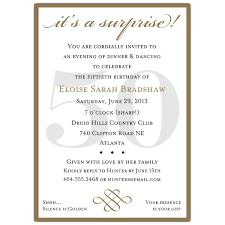 sample invitation for 50th birthday party stephenanuno com