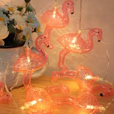 pink flamingo patio lights pink flamingo fairy led string lights party patio porch wedding